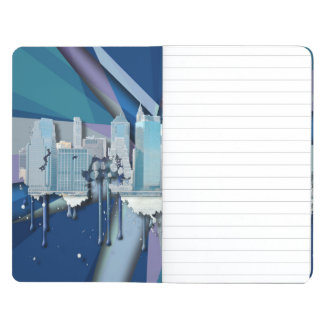 New York City Skyline | Blue 3D Journal