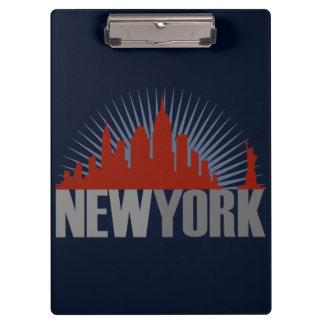 New York City Skyline Clipboards