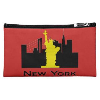 New York City Skyline Cosmetics Bags