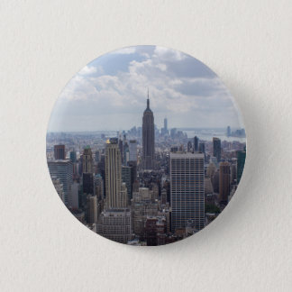 New York City Skyline Empire State Building NYC 2 Inch Round Button