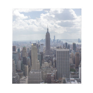 New York City Skyline Empire State Building NYC Notepad