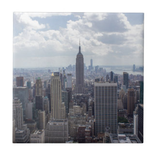 New York City Skyline Empire State Building NYC Tile