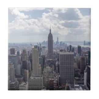 New York City Skyline Empire State Building NYC Tiles