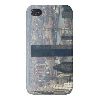 New York City Skyline Horizontal iPhone 4 Case
