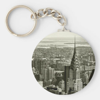 New York City Skyline Keychain