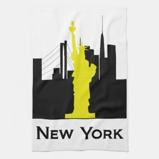 New York City Skyline Kitchen Towel