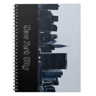 New York City Skyline Notebook