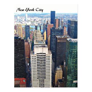 New York City Skyline Post Card