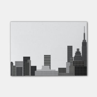 New York City Skyline Post-it Notes