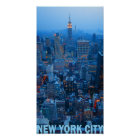 New York City Skyline Poster (Empire State)