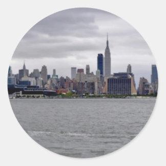 New York City Skyline Stickers