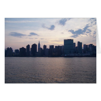 New York City Skyline/United Nations Greeting Card