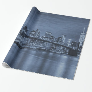 New York City Skyline Wrapping Paper