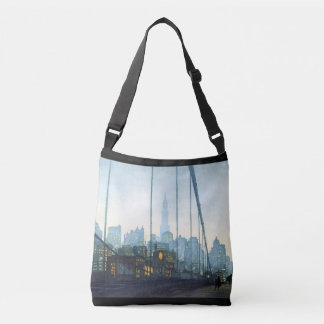 New York City Skyscrapers Art Tote Bag