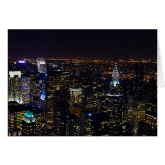 New York City Skyscrapers State Destiny Destiny'S Card