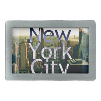 New York City Souvenir Belt Buckles