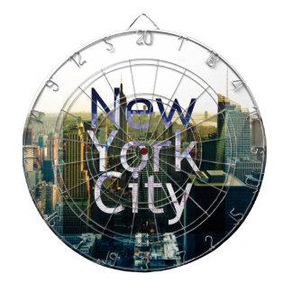 New York City Souvenir Dartboard