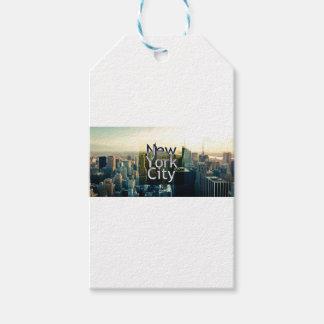 New York City Souvenir Gift Tags