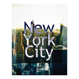 New York City Souvenir Letterhead