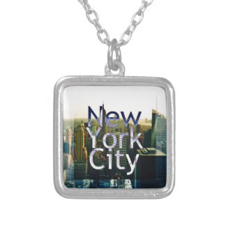 New York City Souvenir Silver Plated Necklace
