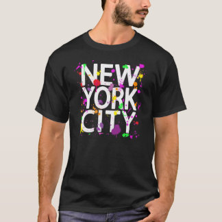 New York City Spray Paint T-Shirt