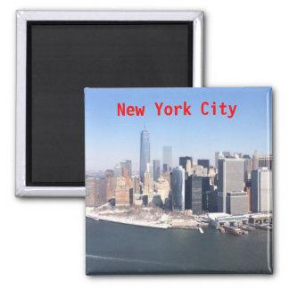 New York City Square Magnet