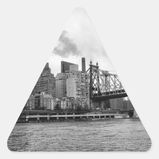 New York City Triangle Stickers