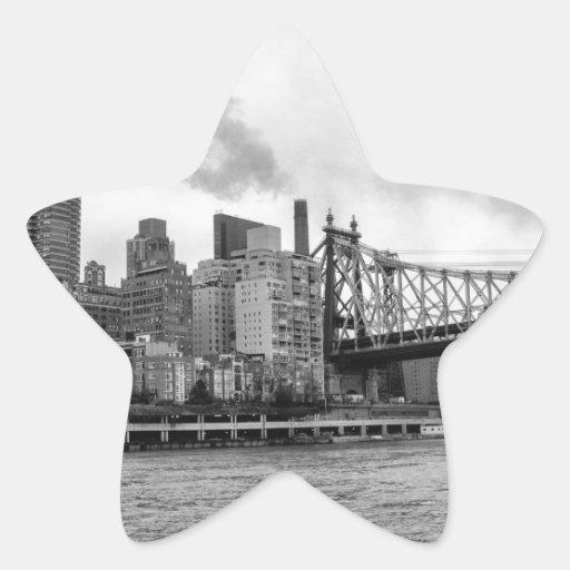 New York City Star Sticker