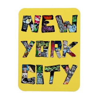 New York City Street Art Magnet