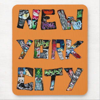 New York City Street Art Mousemat Mouse Pad