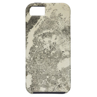 New York City Streets and Buildings Vintage Map iPhone 5 Case