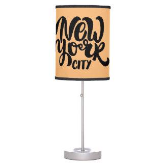 New York City Style Desk Lamps