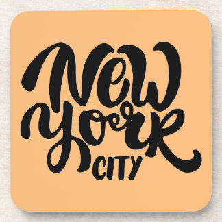 New York City Style Drink Coasters