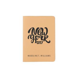 New York City Style Passport Holder