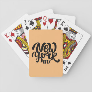 New York City Style Playing Cards