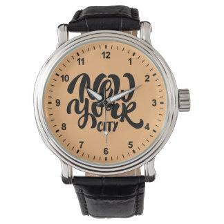 New York City Style Watch