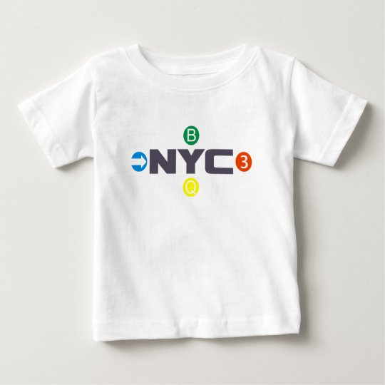 New York City subway Baby T-Shirt