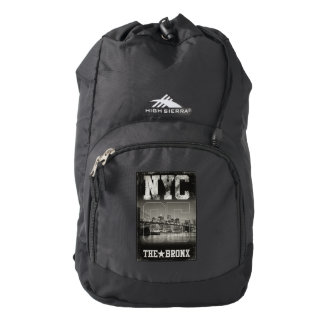 New York City, The Bronx, Backpack