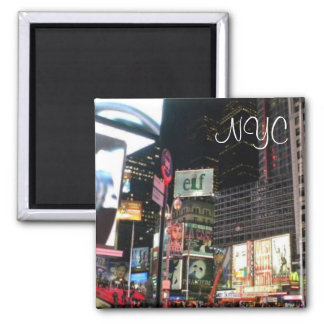 New York City Times Square City Photo Magnet