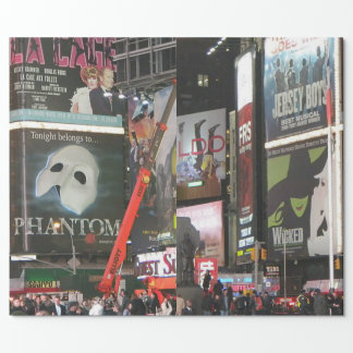 New York City Times Square Gift Wrap