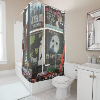 New York City Times Square Shower Curtain