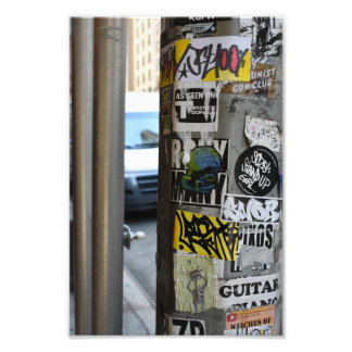 New York City Urban Graffiti Street Art Photograph