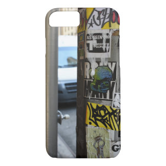 New York City Urban Graffiti Street Art Photograph iPhone 8/7 Case