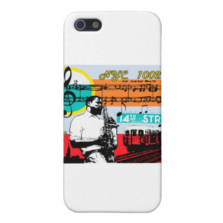 "New York City - Urban style ""Jazz"" iPhone 5 Cases"