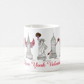 New York City Valentine NYC Valentine's Day Mug