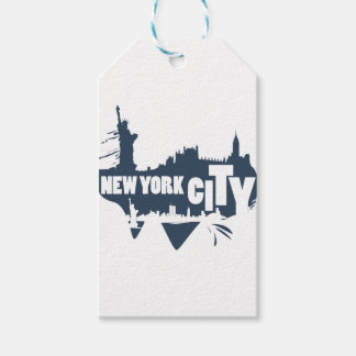 New York City - Vector Gift Tags