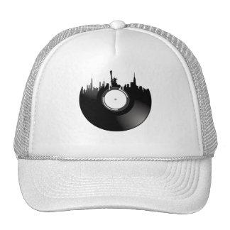 New York City Vinyl Record Trucker Hat