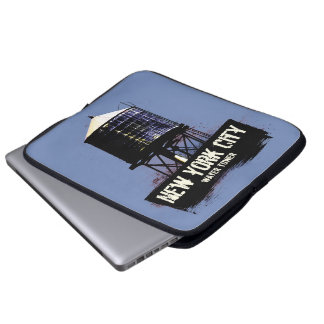 New York City Water Tower Laptop Sleeve