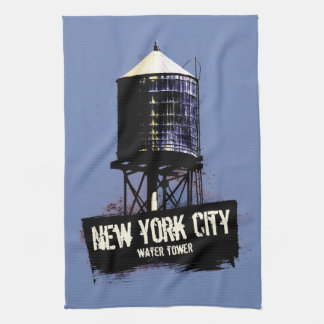New York City Water Tower Tea Towels