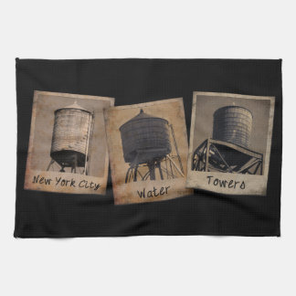 New York City Water Towers Tea Towels